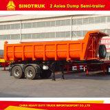 O fornecedor 3-Axles de China transporta o reboque da descarga Semi com qualidade superior