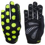 Guanti fuori strada di MTB dei guanti dei guanti su ordinazione della bicicletta