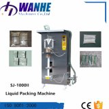 Machine à emballer liquide de tubes de lait de café de jus duel automatique d'huile
