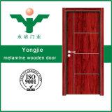 内部のメラミン木のドア