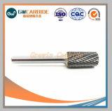 Métrique de carbure de tungstène bavures rotatif, standard