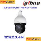 Dahua SD59225u-Hni H. 265 2MP 30X de Camera van het Gezoem 1080P IP PTZ