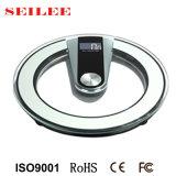 200kg runde Ditial Gewicht-Maschinen-Glasbadezimmer-Schuppe