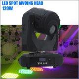 Bewegliches Hauptstadiums-Licht hohe Leistung120w des Gobo-Punkt-LED