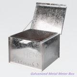Caixa à prova de intempéries de aço galvanizada do medidor