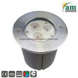 LED IP68, bajo el agua de la luz de la piscina con 2 años de garantía.