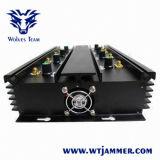 8 полос регулируемый 3G Wimax 4G WiFi GPS VHF UHF телефона Jammer valve (европейское исполнение)