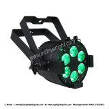 Venda quente 6PCS X 12W RGBW 4 em 1 PARIDADE magro lisa Light&#160 do diodo emissor de luz;