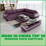 Salle de séjour coin canapé moderne de meubles en cuir