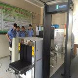 X bagage de rayon examinant la machine pour assurer les stations