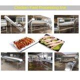 Processo de pata de frango fresco chineses pé de frango máquina de linha de produção