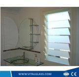 vidrio laminado Tempered claro de 3-6m m/lumbrera teñida de cristal para Windows