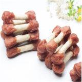 De gemengde Stok van het Calcium met de Snacks van het Huisdier van de Ingrediënten van de Kip en van de Rijst en van de Korrel