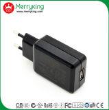ERP van Coc verklaarde de Lader van het Type USB van Muur van de EU van de Hoge Efficiency