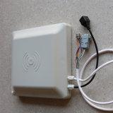 la frequenza ultraelevata di 8dBi 1-5m ha integrato i 2 tester impermeabili del lettore di RFID con l'indicatore luminoso/relè del LED