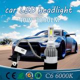 Bester LED-heller Stab und Auto helles 36W C6 H4 9005 9006 für Selbst-LED-Scheinwerfer