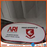 Изготовленный на заказ случай спортов печатание хлопает вверх знамена рамки