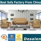 Лучшее качество в лобби отеля мебель комбинации кожаный диван (F089)