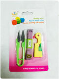 Sewing Kraft in Blister Card Packing, Including Measuring Types Scissors Seam Ripper