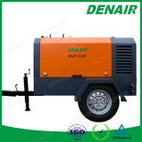 Dacy-10m3/13bar 350cfm en el compresor de aire rotatorio a diesel de dos ruedas con el chasis
