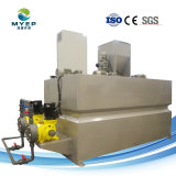 Sistema de Dosagem de polímero automática para tratamento de esgotos