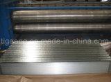 Azulejo de azotea galvanizado de la onda/material para techos de acero acanalado revestido del metal del cinc