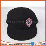 gorra de béisbol del panel de la aduana 6 del bordado 3D