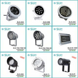 6W-18W Multi-Color Luz PAR LED de exterior
