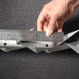 Sicherheit nagelt Antiaufstiegs-Spitzen-Rasiermesser-Wand-Spitze fest