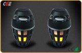 Chama chama de luzes LED de alto-falantes Bluetooth Alto-falante Bluetooth Natal portátil ao ar livre