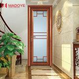 Дверь ванной комнаты шикарных материалов украшения конструкции алюминиевая