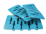 木の形のシリコーンBPA自由なスタック可能容易なリリース氷型、氷皿