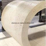 Гибкие возможности для использования вне помещений на стену оболочка и потолок, травертина каменной плиткой
