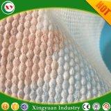 Non-tissés d'air chaud gaufré perforée pour tampon sanitaire Topsheet