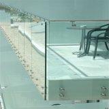 Лучшая цена тонированное стекло закаленное стекло/Balustrade на поручне
