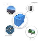 La luz solar de batería de litio batería 12V 100Ah LiFePO4 Batería con caso