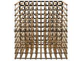 Rta様式15のびんの金属の部分が付いている木のワインラック