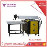 Máquina de soldadura dobro do laser de transferência da fibra do trajeto do laser