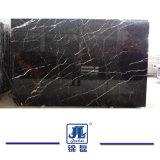 Pulido Natural chino Oro Nero encimera de mármol para Interior/disipador de Cuenca/Piso/pared/azulejos