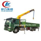 2018 de Chinese Populaire 6ton Vrachtwagen van HOWO 6X4 met Kraan Clw