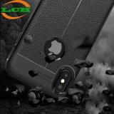Shockproof Lichee Muster-weicher lederner Fall für iPhone X
