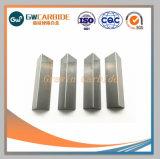 Bande de carbure de tungstène avec usure des pièces
