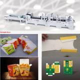 Les emballages en carton Dossier Gluer Machine avec verrouillage du fond (GK-650CA)