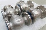 API 150 фунтов / 300 фунтов Ss горизонтального типа обратный клапан с фланцем