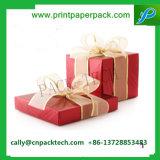 판지 상자 선물 포장 상자 Kraft 종이상자 실크 리본 Bowknot 선물 상자