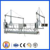Plataforma suspendida construcción eléctrica de Zlp para la limpieza del edificio