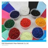 Jaune Masterbatch de contenu de colorant de 10% pour la matière plastique