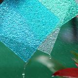 Het hittebestendige Transparante In reliëf gemaakte Blad van het Comité van het Blad Decoratieve Polycarbonaat