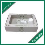 Caixa de empacotamento feita sob encomenda Ecofriendly com indicador do PVC