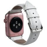 Krokodil-echtes Leder-Uhrenarmband-Band für Iwatch Serie